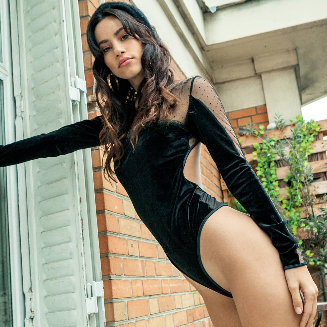 Bodysuit Velvet Noir