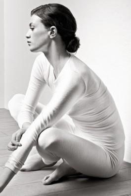 Woolen Silk ivory