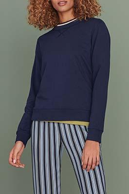 Inna-Sia night blue striped