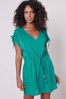 Beachwear aqua green