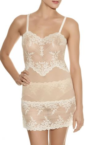 nuisette  Wacoal Embrace Lace naturally nude ivoire WA814191 1