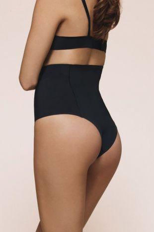 gaine string  Wacoal Beauty Secret noir GRA731 0