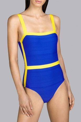 maillot de bain une pièce bonnets moulés  Andres Sarda Mod electric blue bleu 3408531 1