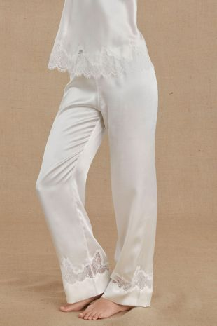 pantalon Simone Pérèle Nocturne naturel ivoire 17F660 1