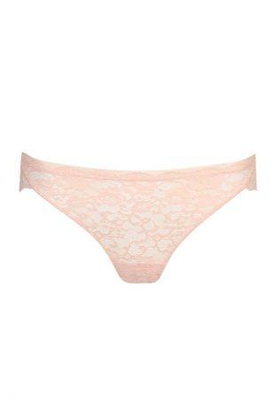slip brésilien Marie-Jo Haute Lingerie Color Studio Lace pearly pink rose 0521630 1