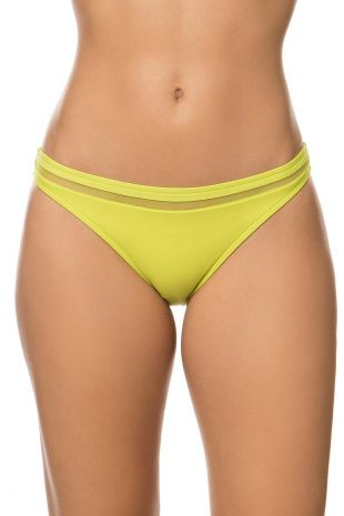 slip de bain taille basse Lise Charmel Elégance à Bord élégance anis jaune ABA0497 1