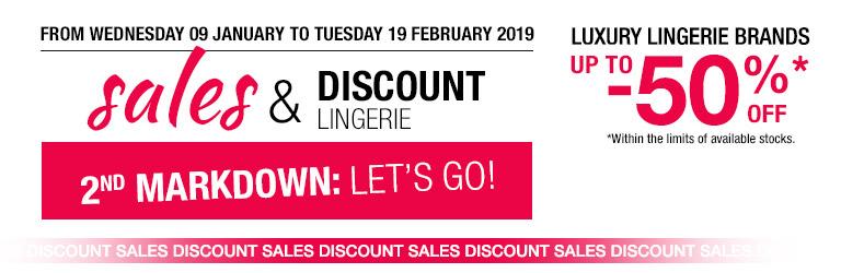 lingerie sales